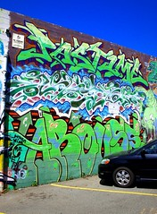 (J.F.C.) Tags: sanfrancisco graffiti nesta pastime arouse