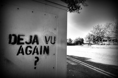 Deja Vu Again? (ebalch) Tags: streetart art reading graffiti nikon paint spray lettering 1020mm berkshire dejavu thamesvalleypark a329 d5100 dejavuagain ebalch