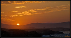Las Catedrales puesta02 (fjcollada) Tags: atardeceres playas puestasdesol