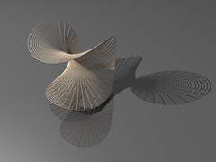 Enneper's Minimal Surface (fdecomite) Tags: geometry surface minimal math chip povray