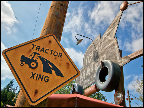 Caution: Tractors Ahead