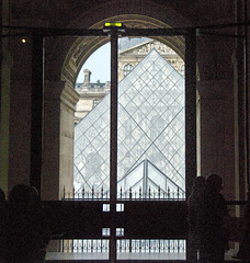 The Pyramid From Inside (john weiss) Tags: paris france geotagged îledefrance rivedroite louvre 75001 fra 18200vr d80 labr labm paris01louvre ãledefrance labcfk labv geo:lat=4886020459 geo:lon=233620405 2011paris5285