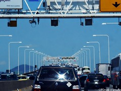 Ponte Rio-Niteri (FM Carvalho) Tags: brazil cars car rio brasil riodejaneiro sony cybershot carros carro sonycybershot brsil ponterioniteri rioniteri t30 sonyt30