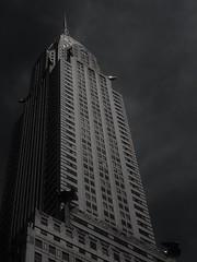 Chrysler Building (CoralieLSR) Tags: voyage new york city trip usa building grey photo big high chrysler ville discover dcouverte coralie
