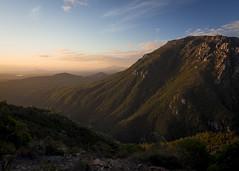 one minute (pikeyc) Tags: sunset mountain australia 100v10f tasmania queenstown westcoasttasmania goldenart