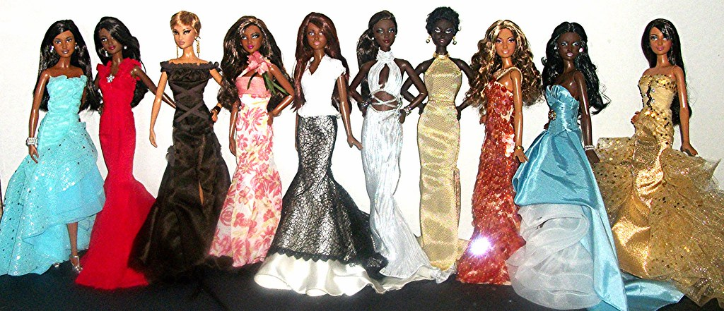 The World\'s Best Photos of barbie and gowns - Flickr Hive Mind