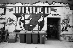 World 3 (g026r) Tags: bw toronto ontario canada film canon graffiti ae1 canonae1 expired manualfocus panchromatic orwo primelens fdmount 135film gelatinsilver canonfd28mmf28 roll96 un54 originalwolfen canonnewfd28mmf28 orwoun54