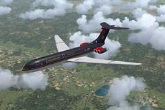 Royal Jordanian VC10-400-1 (jonf45 - 2 million views-Thank you) Tags: 2004 skin flight royal bae simulator sim jordanian fs fs9 vc10 repaint rja relivery vc10400