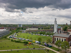 Drachenfest Consol-Park (Peter L.98) Tags: flare kap pendulum frderturm gelsenkirchen zeche consol drachenfest wwkw2016