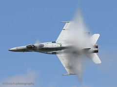 Legacy Hornet Demo (JetImagesOnline) Tags: show demo us fighter force air navy jet airshow hornet roads hampton f18 usaf legacy base langley vapor airpower fa18 vfa106 mcgruber