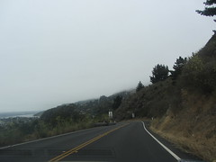 Stinson Beach (reza fakharpour) Tags: ocean california county sky nature water clouds landscape coast highway pacific shoreline shore marincounty coastline northern stinsonbeach pacificcoast stinson