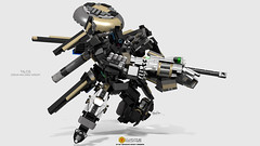 Talos Dream Machine (clmntin.E) Tags: digital robot lego mechanical designer brother military bricks hard dream machine mini future land futuristic mecha rendering mech variant mocs moc afol recon ldd exo occulus talos hardsuits exosuits