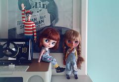 Cherry Beach Sunset&Casual Affair (k07doll) Tags: bigeyes doll sweet blythe custom cubby blythedoll rbl customblythe blythecustom k07 k07doll