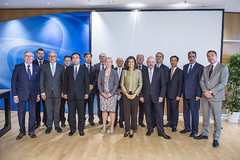 Ministers' Roundtable attendees