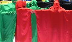 United Colors (G A B R I H A L O) Tags: blue red italy black green colors yellow hands italia arms united mani games pisa persone together tuscany toscana colori insieme dita giochi stringere olimpiadi tunica braccia unione catena legame valdera rioni fratellanza cascianaterme gorina