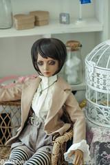 Nenette (Micheescloset) Tags: ball asian glasses doll tan le luv bjd abjd jointed dollmore zaoll