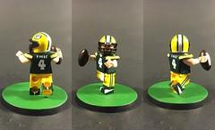 """Brett Favre """"The Gunslinger"""" (TheBrickBrewer) Tags: football lego nfl player brett custom favre brettfavre"""