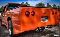 1983 Chevy S10 (yravaryphotoart.com) Tags: orange chevrolet closeup truck pickup wideangle chevy 1983 hdr s10 chevys10 canonefs1022mmf3445usm canoneos7d yravary yravaryphotoart