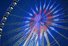 clairage nocturne en bleu, blanc, rouge. (Claudia Sc.) Tags: paris france place illumination concorde nuit ville granderoue