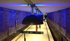 Nice Hat (Pamela Marklew) Tags: underground subway munich mnchen ubahn westfriedhof
