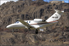 CESSNA525 CITATIONJET CJ1 PH-FIS 525-0514 Sion mars 2016 (paulschaller67) Tags: mars sion citationjet 2016 cj1 cessna525 phfis 5250514