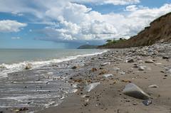 Rain Clouds - DSC_0269 (John Hickey - fotosbyjohnh) Tags: ireland dublin seascape clouds coast seaside nikon seashore rainclouds irishsea shankill 2016 brayhead coastalerosion nikond5100 may2016
