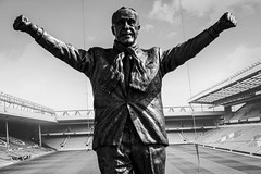 William Shankly 2015-04-11 (Michael Erhardsson) Tags: england monument liverpool bill stadium william ikon premier league anfield lfc shankly ynwa 2015 staty ledare ligan engelska fotbollsresa fotbollslag