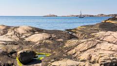 Sailing (johanbe) Tags: sea seascape sailboat landscape rocks sailing sweden sverige westcoast fyr hav vstkusten klippor tjurpannan bohuscoast bohuskusten