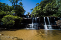Small Waterfall (J.P. Lawrence Photography) Tags: australia 2016 new south wales blue mountains travel wentworth falls spring australia2016 bluemountains bluemountainsnationalpark nsw newsouthwales spring2016 wentworthfalls