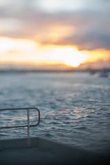Border (daniellih) Tags: sunset beach water saint june st fence landscape pier dusk shoreline wave australia melbourne victoria shore fencing railing stkilda goldenhour kilda breakwater 2016 canonbody nikonlens freelens freelensing stkildapierbreakwater pierbreakwater daniellih
