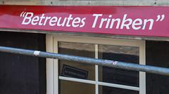 """Assisted Drinking"" (AnyMotion) Tags: travel sign bar germany pub reisen hamburg schild stpauli kneipe 6d 2016 anymotion hamburgimpressions canoneos6d davidstrase"