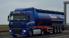 PL - Szarkowicz DAF XF 105 SC (BonsaiTruck) Tags: truck silo lorry camion trucks 105 bulk lastwagen daf lorries lkw xf ffb citerne lastzug silozug feldbinder powdertank szarkovicz