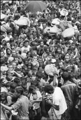 bengali-refugee-camp-in-india-1971_23914734554_o (bd.1971) Tags: umbrella exterior faces refugee crowd foule sack extrieur calcutta parapluie viewfromabove accumulation vaccination rfugi entassement indiaall vueplongeante indetout sacdejute asiansouthasianorigin asiatiquedelasiedusud bangladeshwarofindependence bangladaisnationalit bangladeshinationality guerredindpendancedubangladesh