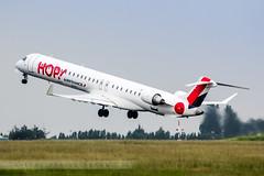 LIL - Bombardier CRJ-1000 (F-HMLO) Hop! Air France (Aro'Passion) Tags: airport aircraft lil hop lille takeoff crj rotate dcollage lfqq lesquin natw 60d crj1000 aropassion fhmlo