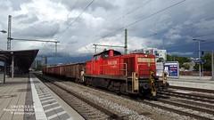 DB 294 575-6, Mnchen Ost (dolanansepur) Tags: railroad munich br diesel eisenbahn rail railway db german locomotive bahn bau deutsche railion lokomotiv baureihe v90