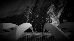 bridge lines (Sebastian Schmeinck) Tags: bridge water black white bw schwarz weis dark dunkel light licht abstract minimal lines geometry perspective art shadow outdoor