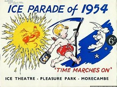 Morecambe advert ice parade 1954 (morecambememories) Tags: icetheatre iceparade 1954 morecambe