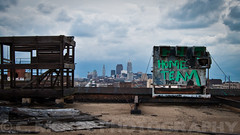 Before the storm. (.:Chelsea Dagger:.) Tags: city ohio urban abandoned america factory exploring cleveland warehouse clevelandohio dilapidated chelseadagger chelseakaliwhatever cmckeephotography chelseamckee