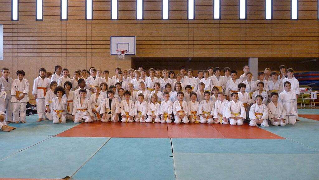 Tournoi judo Rocbaron poussins