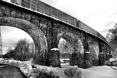 Thomas Viaduct (fwredelius) Tags: maryland 1833 thethomasviaductspansthepatapscoriverandpatapscovalleybetweenrelayandelkridge usaitisthefirstmultispanmasonryrailroadbridgeintheunitedstatestobebuiltonacurveconstructionofthebridgecommencedonjuly4 andwascompletedonjuly4 1835fwredeliusnikon
