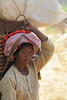Woman with Basket (cormend) Tags: travel portrait woman hat trekking trek canon eos asia village basket state head hiking farm burma hike myanmar inle farmer southeast shan touring carrying birmanie kalaw 50d cormend