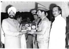 Rakesh Sharma First spaceman India with J P Agarwal civik reception
