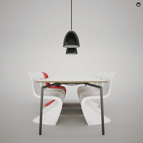 De Spin | Design Verner Panton | powered by tagwerc