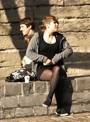 Bus stop (Rick & Bart) Tags: people woman guy girl candid streetphotography stranger busstop ghent gent rak meisje gand mensen smrgsbord jongen everydaypeople vreemden rickbart rickvink