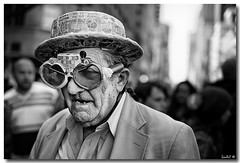 The Easter Man... (Lior Darzi) Tags: nyc newyorkcity portrait people blackandwhite bw newyork easter blackwhite aperture fuji bokeh oldman getty fujifilm pro1 blueribbonwinner backandforth greatphotographers beautifulphoto newyorcity blackwhitephotos ourplanet flickraward xpro1 platinumheartaward artinbw abovealltherest grouptripod artofimages oneofmypics flickraward expressyourselfaward platinumbestshot platinumpeaceaward mygearandme ringexcellence fujifilmxpro1 fujifilmxf35mmf14r fujifilmxpro1fujifilmxf35mmf14r