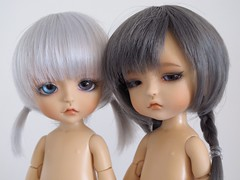 Dawn & Dusk (*alexisbears*) Tags: light eye yellow soldier dawn open dusk tan lea nutcracker mystic lati
