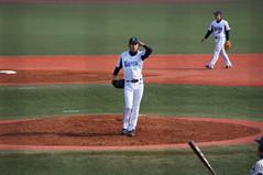 DSC09785 (shi.k) Tags: 横浜ベイスターズ 120320 イースタンリーグ 王溢正 横須賀スタジアム