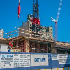 Pop Quiz   What City Did We Just Visit? (monojussi) Tags: nyc newyork construction gotham 2012