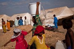 World Water Day, 2012 (UNICEF Pakistan) Tags: unicef pakistan camp water children www wash hygiene sindh floods tentcity freshwater pak cleanwater worldwaterday badin tandobago safedrinkingwater warrickpage unicefpakistan monsoonfloods2011 worldwaterday2012