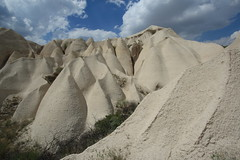 Landscape at Cappadocia, Turkey (Rowan Castle) Tags: rock turkey landscape scenery asia cappadocia formations img5116